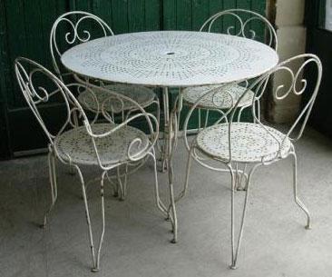 Décapage de mobilier de jardin, TTC Aix en Provence