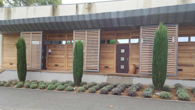Aérogommage de façades en bois PACA société TTC # Aérogommage Bois Location