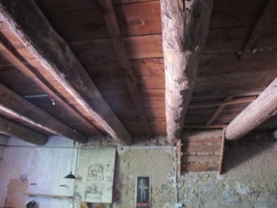 decapage-bois-plafond-avant