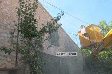 Décapage de façade