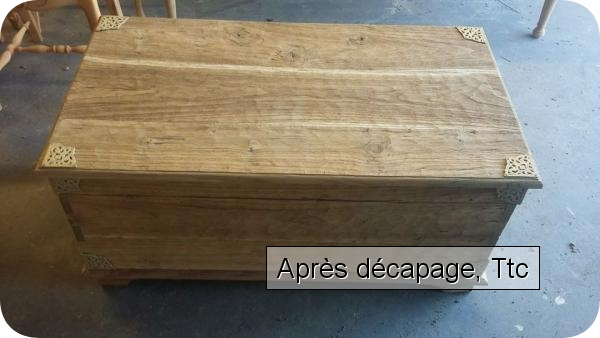 D capage de meubles vernis bouches du rh ne for Decapage de meuble