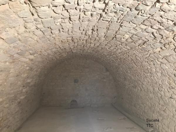 Décapage d'une cave