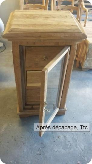 D capage de meubles vernis bouches du rh ne for Decapage meuble