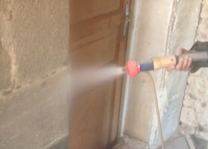 Nettoyage par hydrogommage