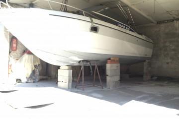 Sablage bateau