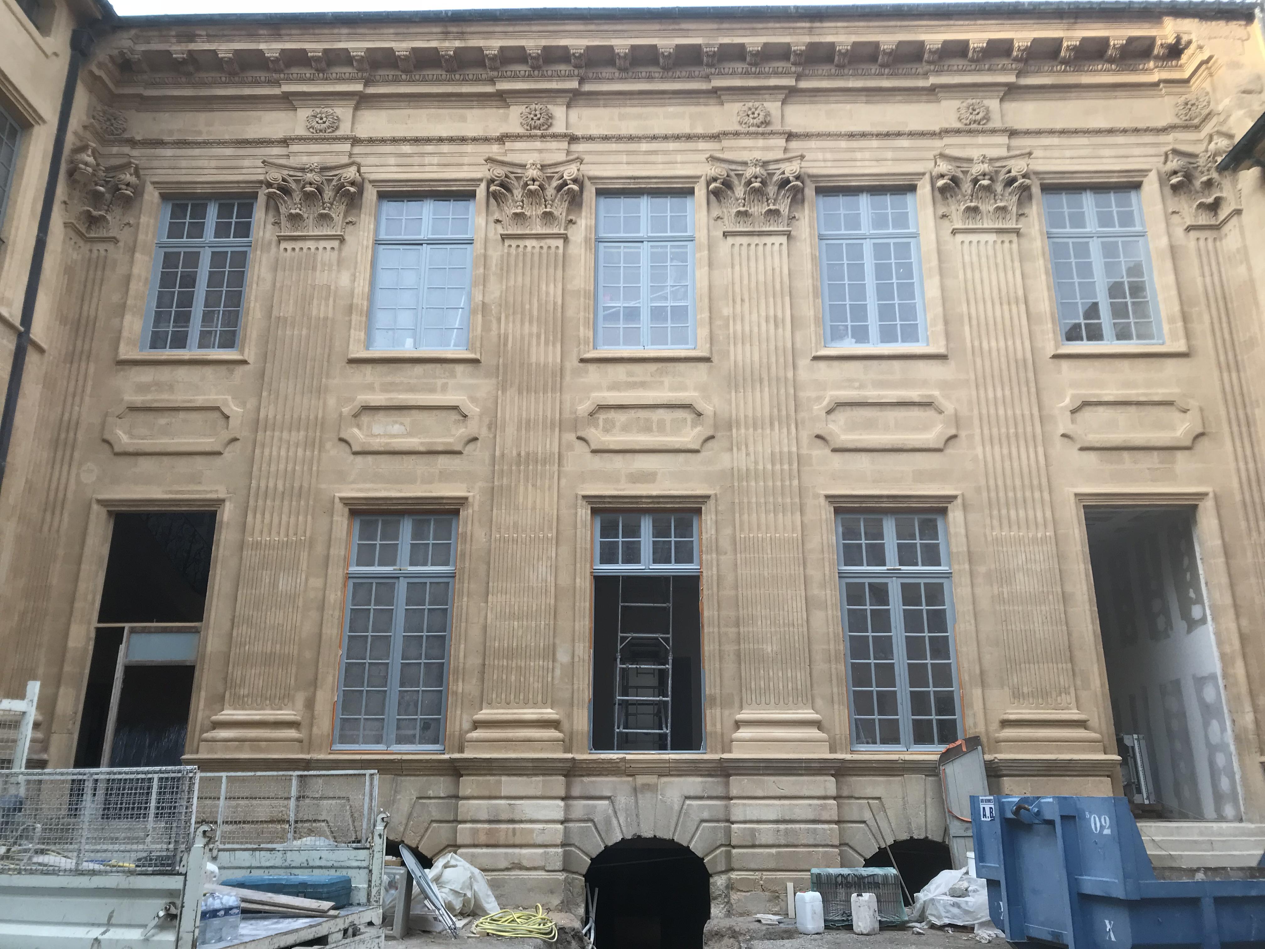 Sablage de façades