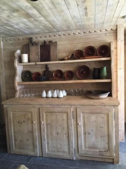 Sablage de mobilier en bois